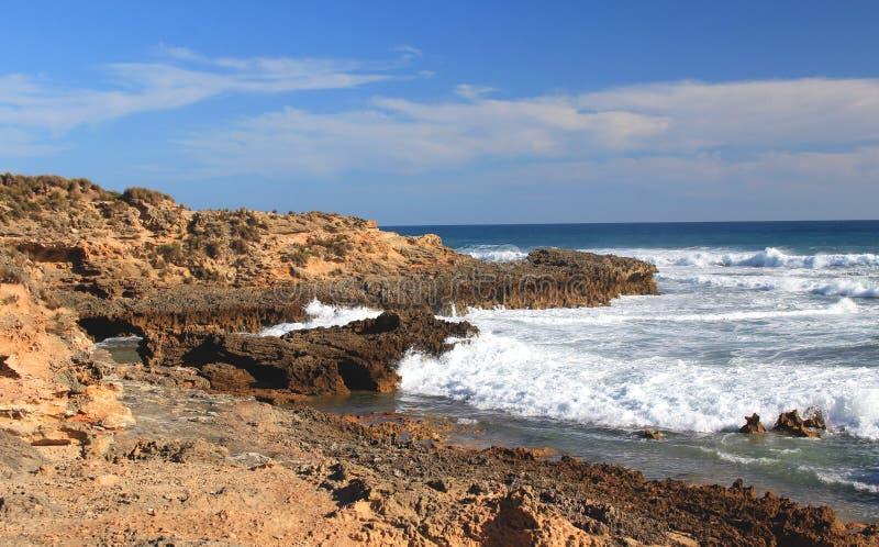 Paysage d'océan, océan du sud, Bass Strait, Australie photo libre de droits