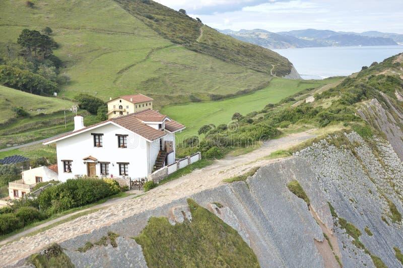 paysage d 39 une colline et d 39 une falaise photo stock image. Black Bedroom Furniture Sets. Home Design Ideas