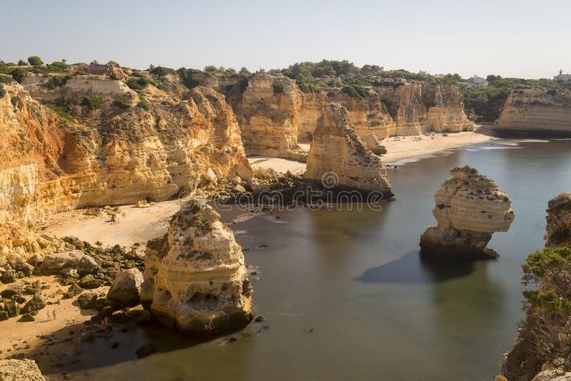 Paysage dans l'Océan Atlantique photographie stock