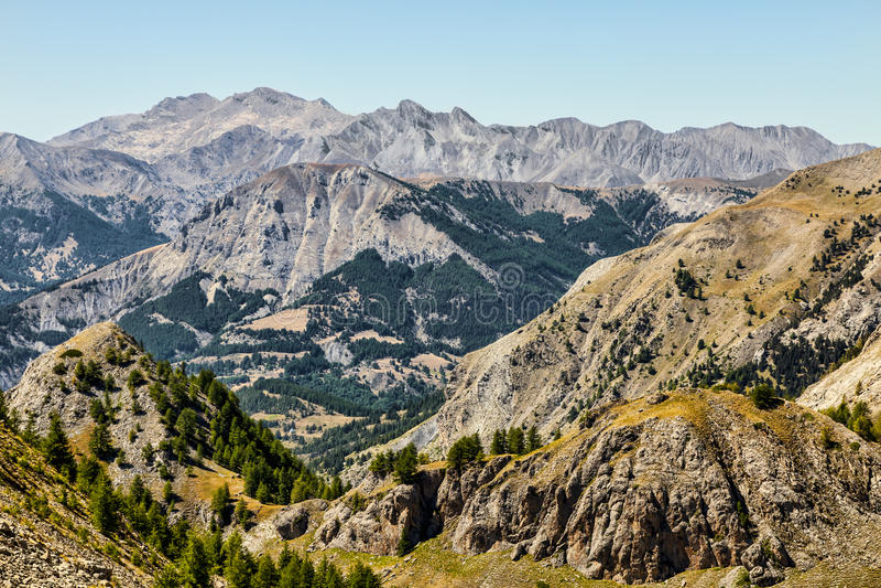 Paysage Dans Les Alpes Photos stock