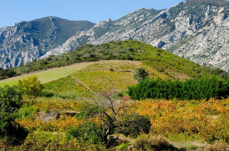Paysage dans les montagnes de Pyrénées photo stock