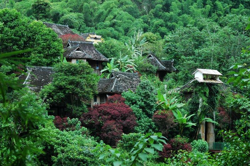 Paysage dans yunnan, porcelaine photos libres de droits