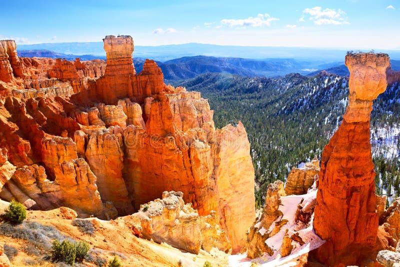 Paysage de Bryce Canyon image libre de droits