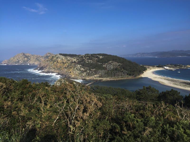 Paysage de côte - costero d'Escenario image stock