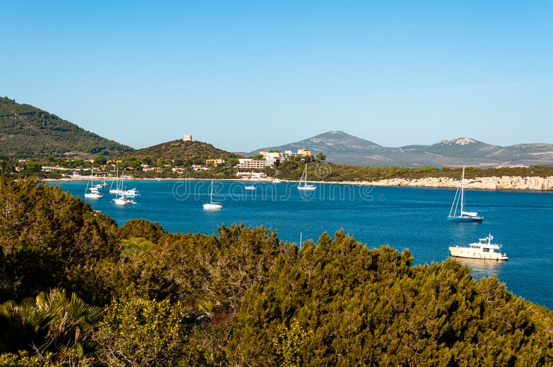 Paysage de c?te de la Sardaigne photo stock