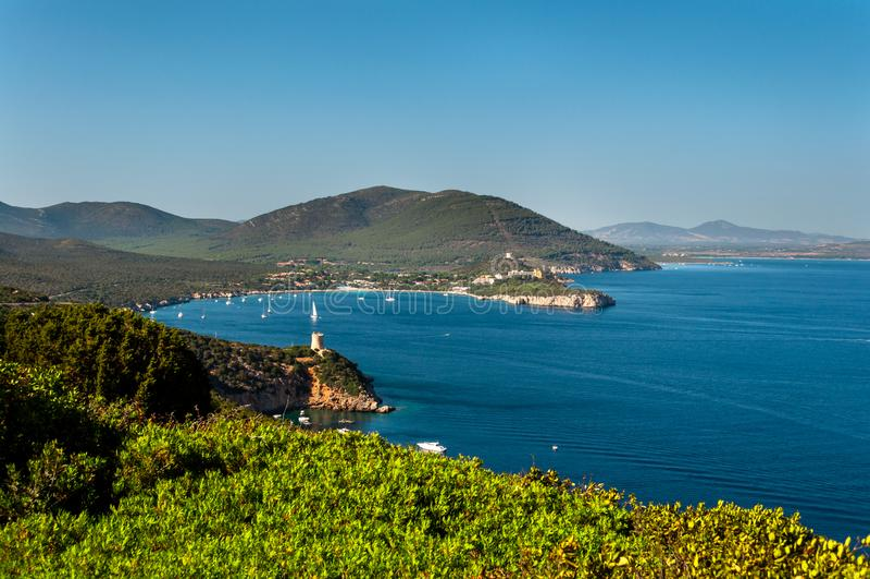 Paysage de c?te de la Sardaigne photo libre de droits