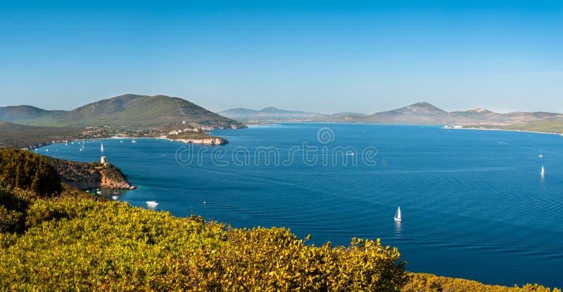 Paysage de c?te de la Sardaigne photos stock