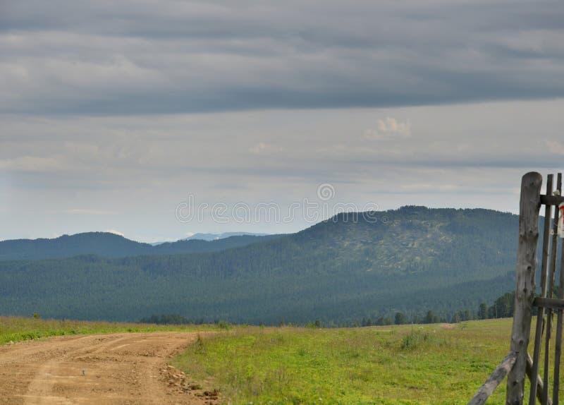 Paysage de campagne, ciel photographie stock libre de droits