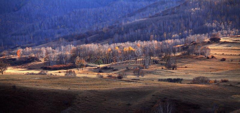 Paysage de Chine du Nord photographie stock libre de droits