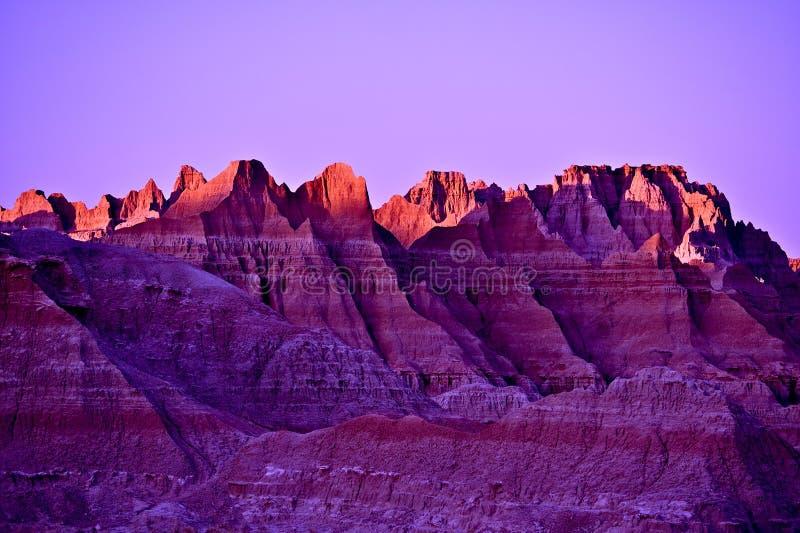 Paysage de coucher du soleil photographie stock