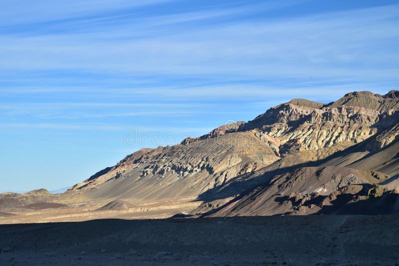 Paysage de crique de four de parc national de Death Valley images stock
