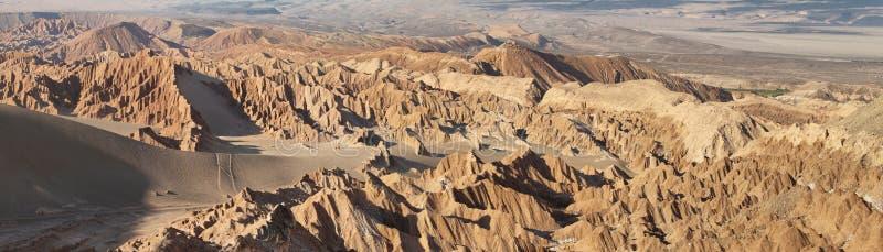 Paysage de désert de vallée de Mars images stock