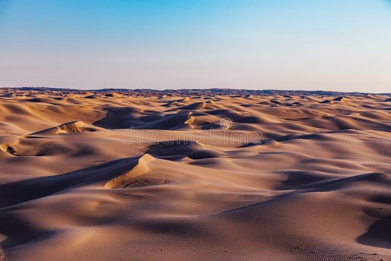 Paysage de d?sert de dunes de sable photographie stock libre de droits
