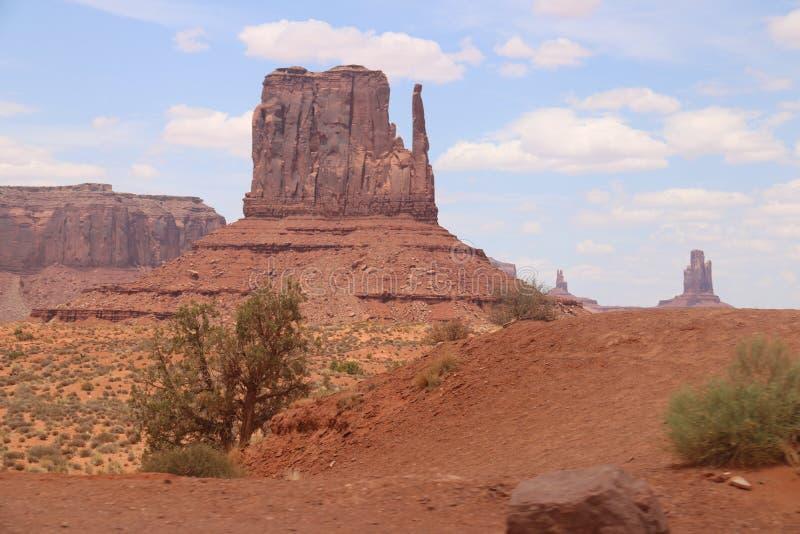 Paysage de d?sert en Arizona, vall?e de monument Coloré, tourisme photos stock