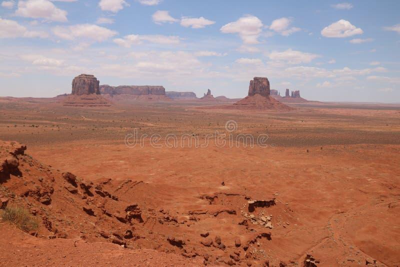 Paysage de d?sert en Arizona, vall?e de monument Color?, tourisme photo libre de droits
