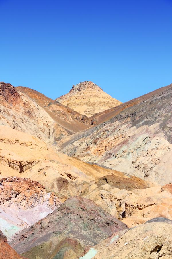 Paysage de Death Valley image libre de droits
