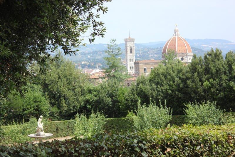 Paysage de Florence photographie stock libre de droits