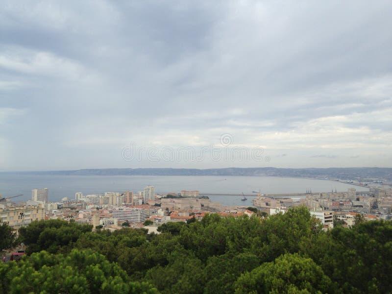 Paysage de frioul de Marseille images stock