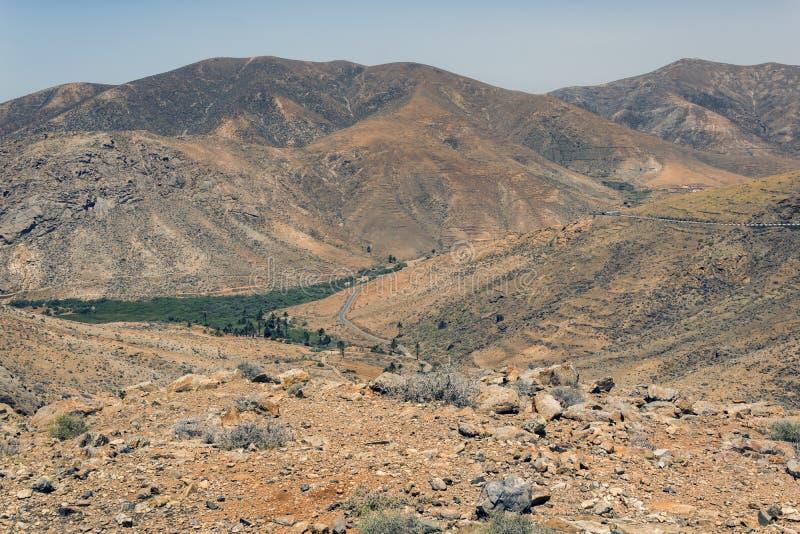 Paysage de Fuerteventura photographie stock
