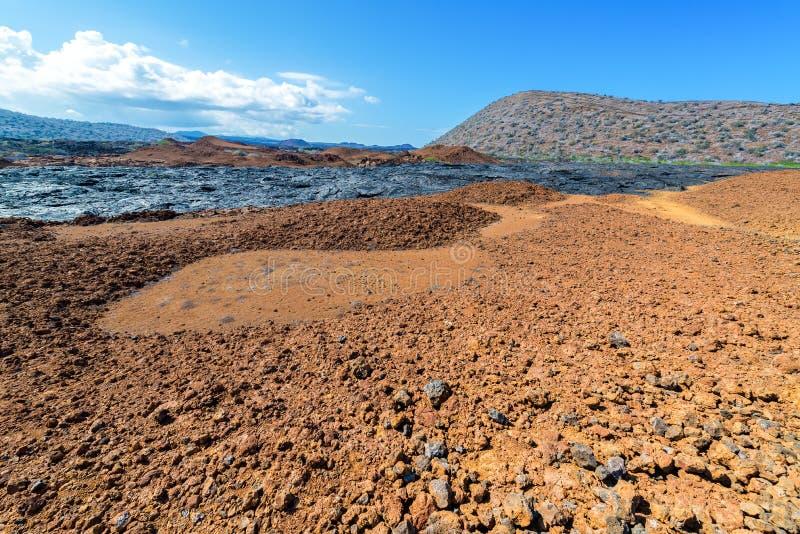 Paysage de Galapagos photos stock