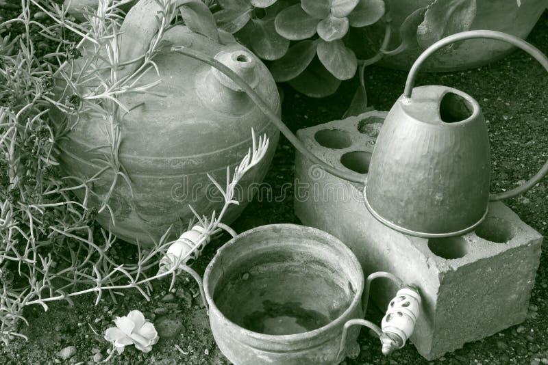 Paysage de jardin photo stock