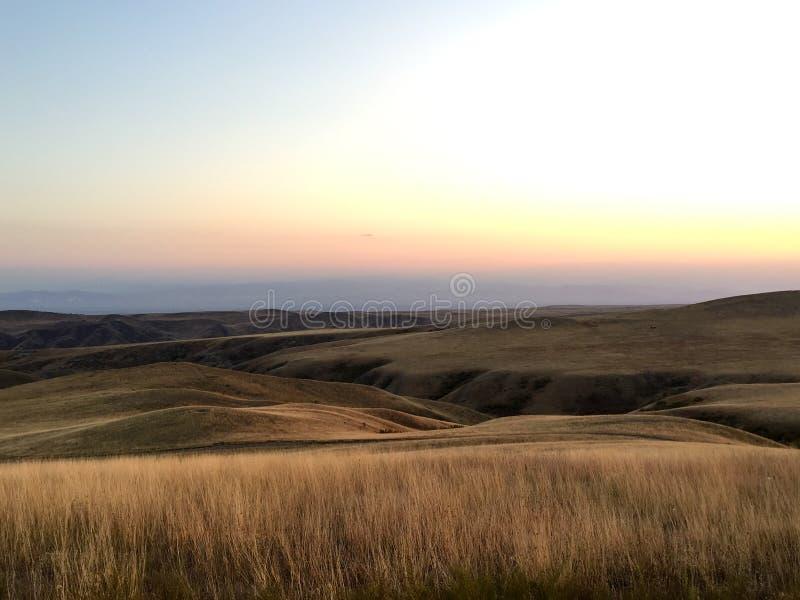 Paysage de Kakheti, la Géorgie images libres de droits