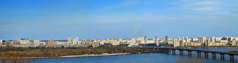 Download Paysage de Kiev photo stock. Image du ciel, kiev, horizon - 76076980