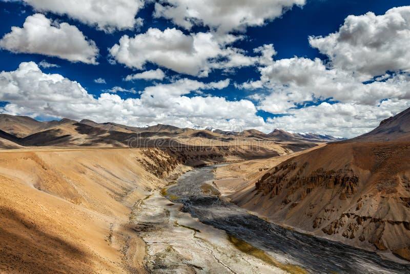 Paysage de l'Himalaya Ladakh, Inde images stock