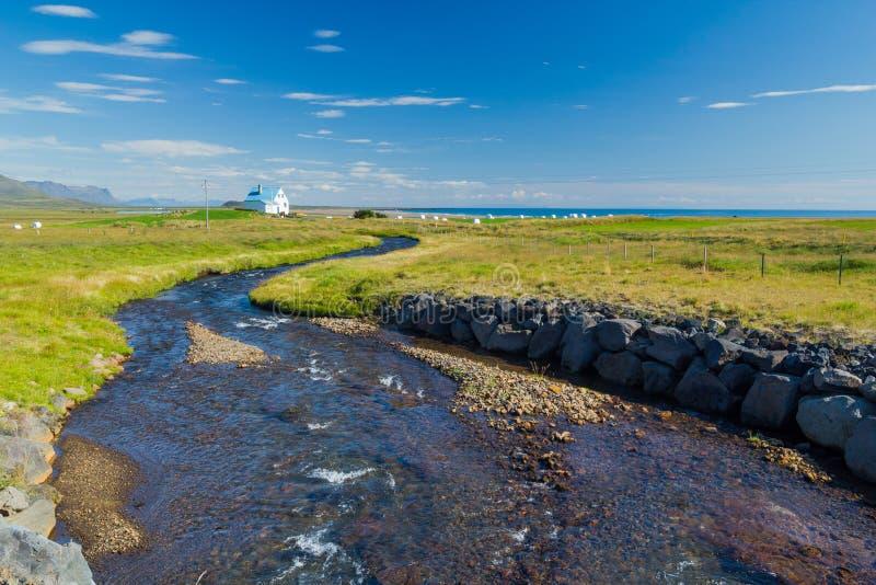 Paysage de l'Islande d'été photo libre de droits