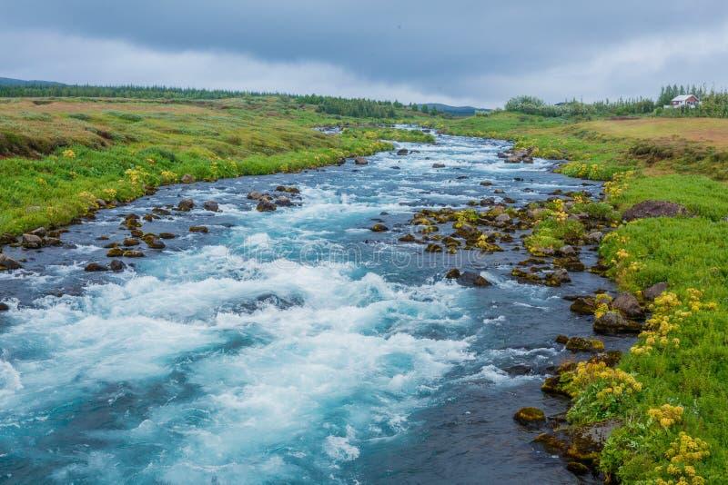 Paysage de l'Islande d'été avec… photographie stock