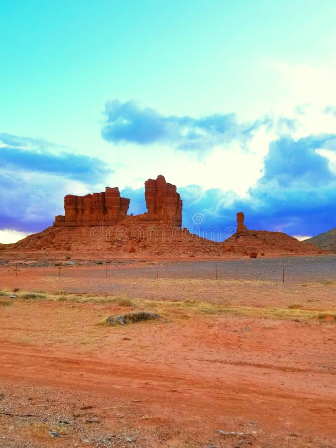 Paysage de l'Utah images libres de droits
