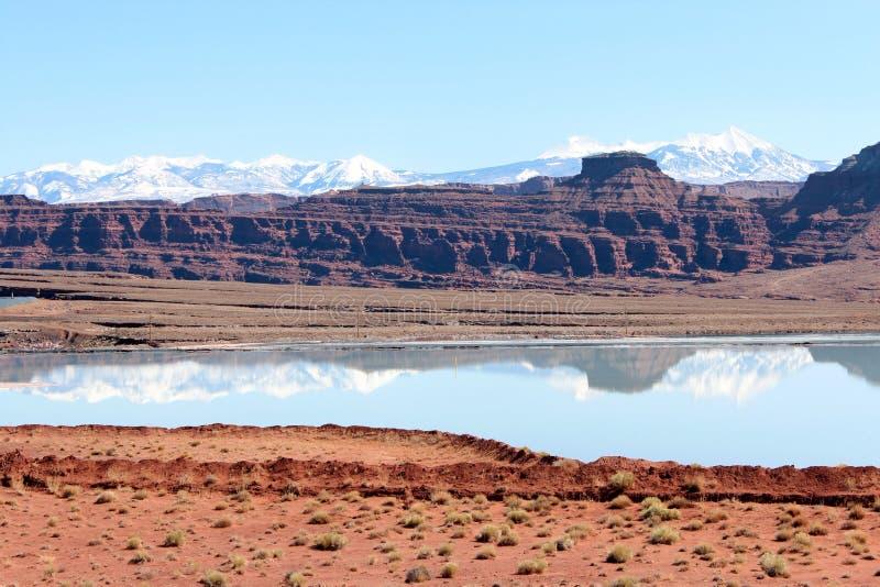 Paysage de l'Utah photo libre de droits