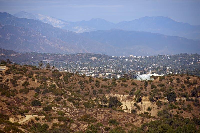 Paysage de la Californie photo libre de droits