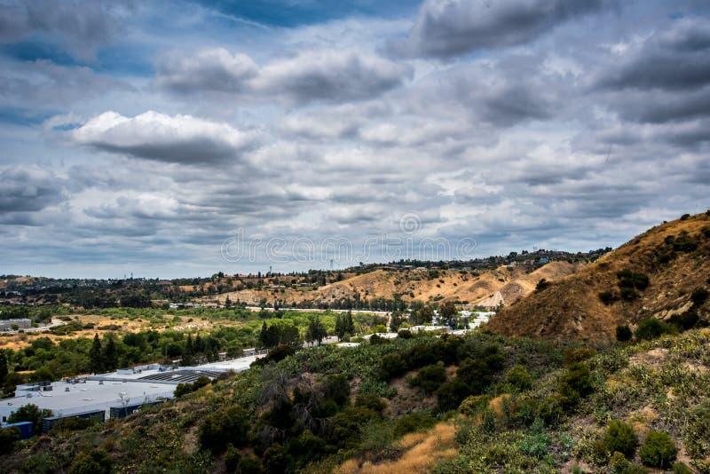 Paysage de la Californie du sud images stock