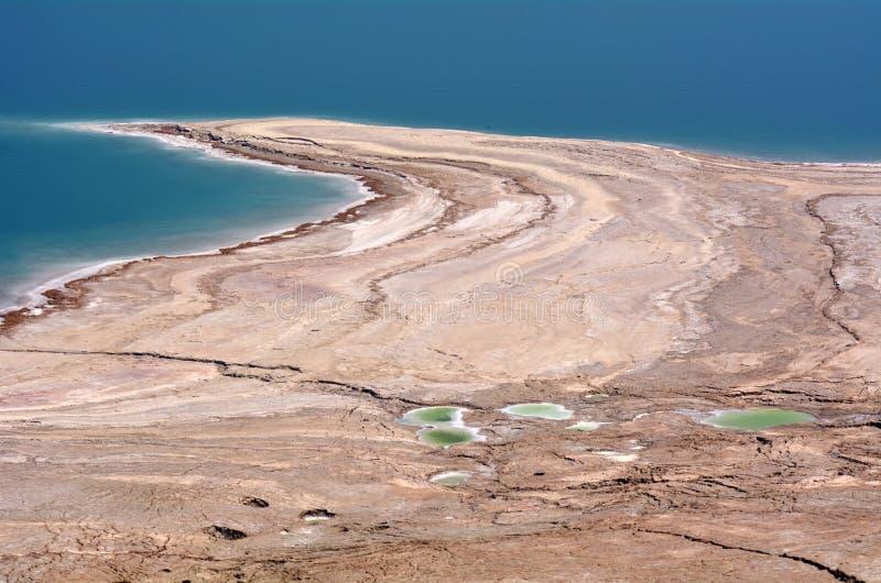Paysage de la mer morte Israël photos libres de droits