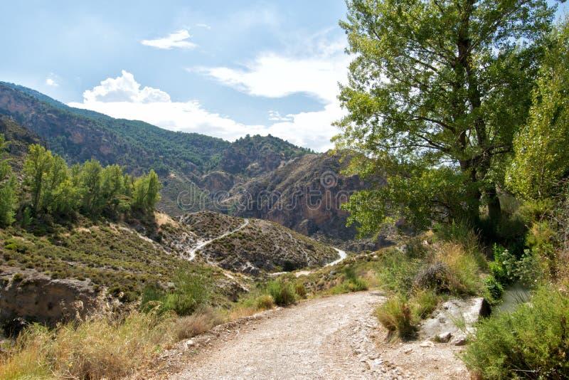 Paysage de la Sierra Nevada photos stock