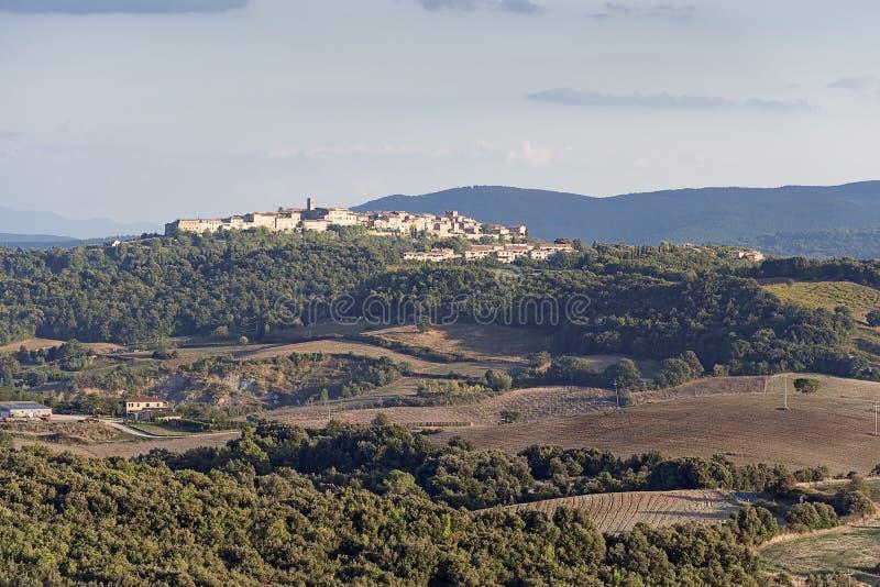 Paysage de la Toscane photographie stock libre de droits