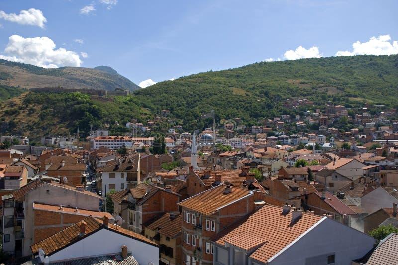 Paysage de la ville, Prizren, Kosovo image libre de droits