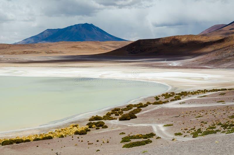 Paysage de Laguna Colorada de la Bolivie photo libre de droits
