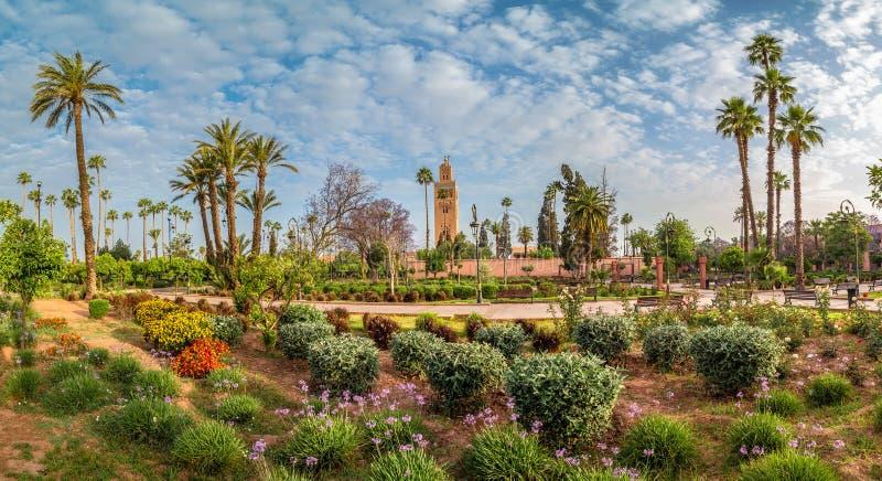 Paysage de Marrakech photo libre de droits