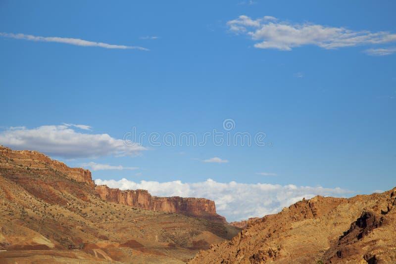 Paysage de Moab photos libres de droits