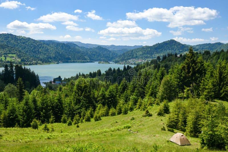 Paysage de montagne photographie stock libre de droits