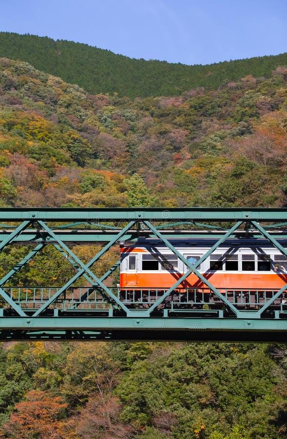 Download Paysage De Montagne Avec Le Pont Et Le Train De Chemin De Fer Photo stock - Image du montagne, automne: 87701588