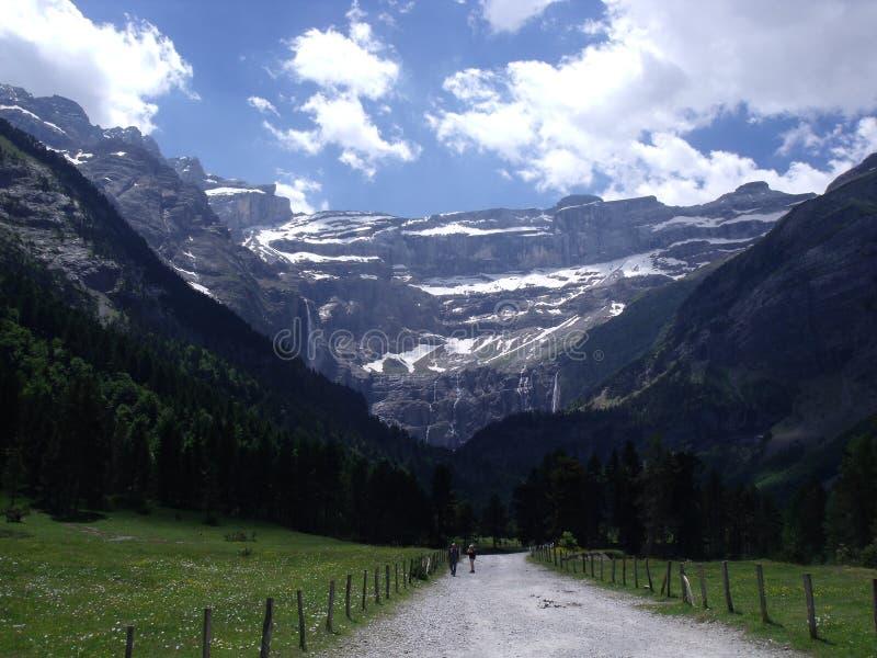 Paysage de montagne dans les Frances images stock