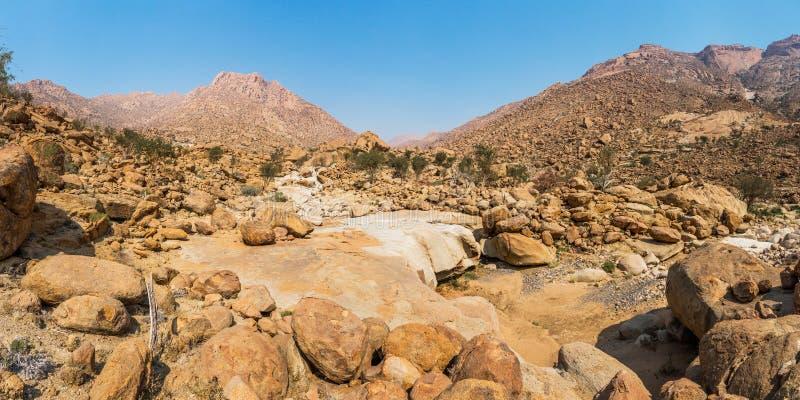 Paysage de montagne de Brandberg image libre de droits