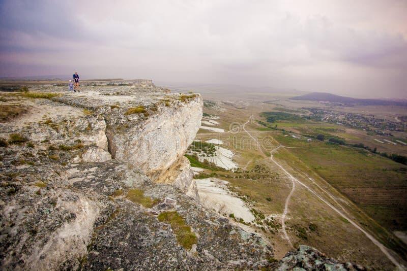 Paysage de montagne en Crimée images stock