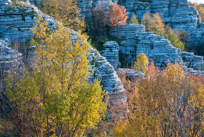 Paysage de montagne en Grèce photo stock