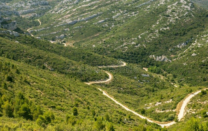 Paysage de montagne pr s de marseille image stock image for Agence de paysage marseille