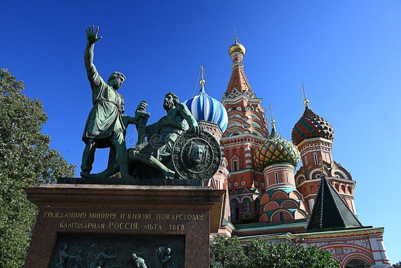 Paysage de Moscou le Kremlin photographie stock