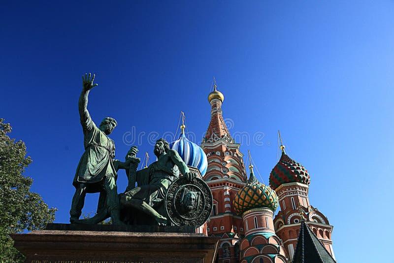 Paysage de Moscou le Kremlin image libre de droits